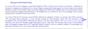 An excerpt from the IBA ICC Programme Fair Trial Digest May-June 2012 issue