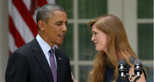 President Obama and Samantha Power-June 5, 2013 Photo Politico