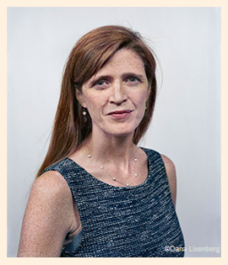 Samantha Power FT.com Photo by Dana Lixenberg Here