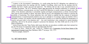ICC Document 1556728 22 Feb 2013 Libya Failed to establish a problem