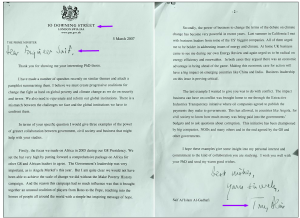 Tony Blair writes to Engineer Saif Secret Files Labour lied over Gaddafi... Mail Online