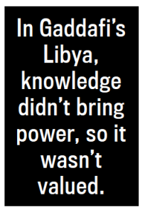 A visual excerpt from 'It's Not the USA that Made Libya the Disaster it is Today' by Ann Marlowe- The Daily Beast