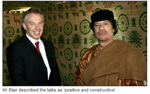 'Blair, Gaddafi and the BP oil deal