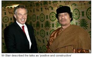 'Blair, Gaddafi and the BP oil deal