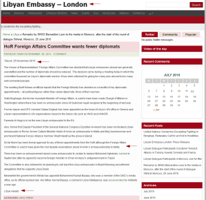 'HoR Foreign Affairs Committee wants fewer diplomats _ Libyan Embassy – London' - english_libyanembassy_org__p=7804