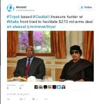 'Alwasat on Twitter_ _#Tripoli based #Gaddafi treasure hunter w_ #Malta front tried to facilitate $270 mil arms deal