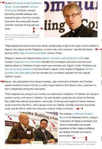 GENEVA 2010 'Christian-Muslim crisis response group to defuse religious tensions' FaithWorld
