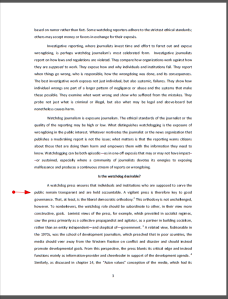Page 3 Chapter 5 Coronel Harvard World Bank Report Pippa Norris'' -