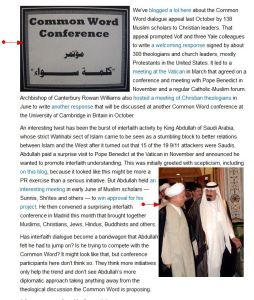 """'Rivalry' '""""Something in the air"""" in Christian-Muslim dialogue' FaithWorld"""