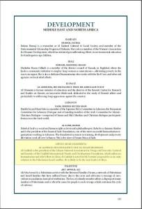 Saif Gaddafi Development The Muslim 500 2009 Page