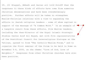 Tangible Results' Dr. Aref Nayed 2008 WIKILEAKS cable