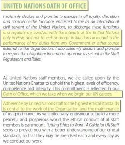 UN OATH OF OFFICE Page 3 HERE