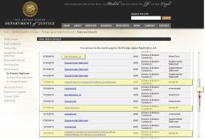 GNC & Ibrahim Jathran - 'FARA Quick Search' - www_fara_gov_qs-primary_html