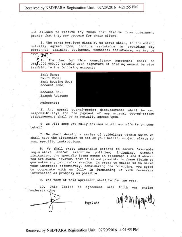 PAGE 6 REGISTRATION FARA HoR, Agilah Saleh, Khalifa Heftar CONSULTANCY 2