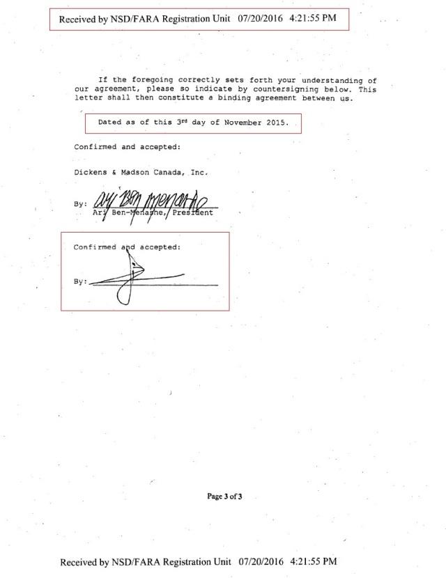 PAGE 7 REGISTRATION FARA HoR, Agilah Saleh, Khalifa Heftar CONSULTANCY 3