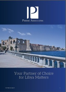 """Your partner of choice for Libya matters"" Perim experts Perim Associates PDF Ethan Chorin"