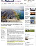 "The National, noted ""with 80 per cent of DPW shares held by Dubai World…"""